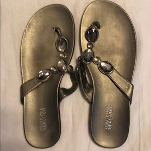 Bejeweled, Kenneth Cole sandals